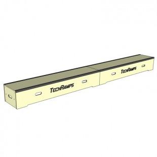 Grindbox prosty z kątownikiem 360cm - 30cm - 40cm GPK360-30-40