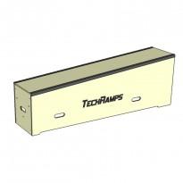 Grindbox spadkowy z kątownikiem 180cm - 30-45cm - 40cm